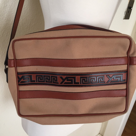 0b58d3db Vintage YSL Tribal Crossbody Bag